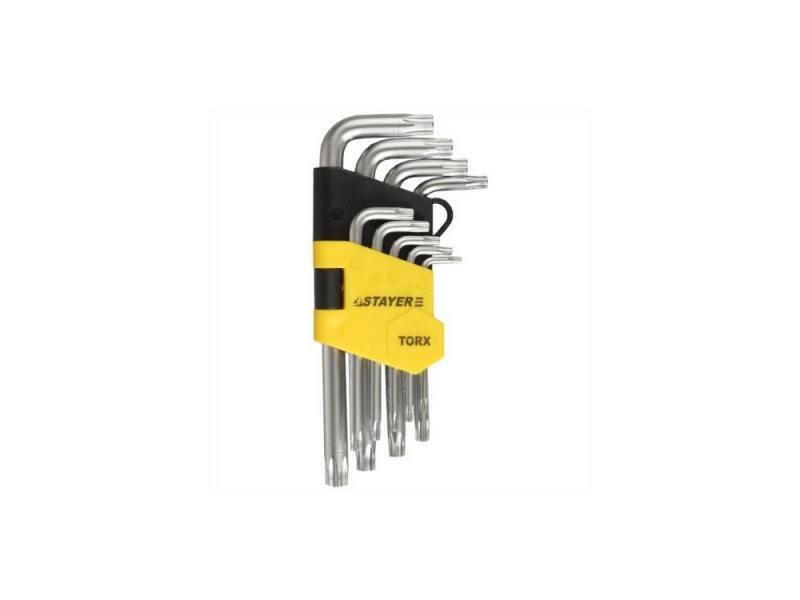Набор ключей Stayer MASTER 9шт 2743-H9 набор резьбонарезной трубный stayer professional 28260 h4