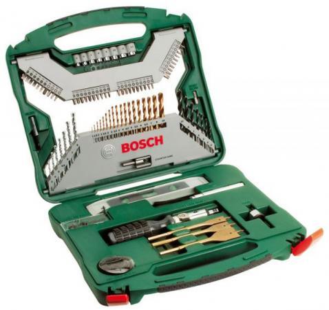 Набор инструментов Bosch X-Line Titanium 100 предметов 2607019330 набор принадлежностей bosch x line titanium 2607019330
