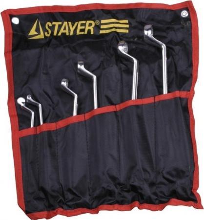 Набор ключей Stayer Мастер 6шт 27151-H6 набор stayer 29921 h6