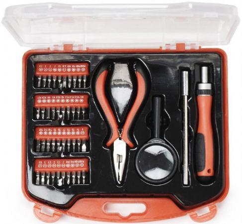 Набор инструментов Gembird Cablexpert TK-BASIC-02 44 предмета набор инструментов gembird tk solder 28 предметов
