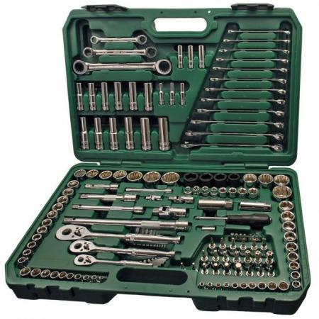 Набор инструментов SATA 09510 150пр. универсальный metric & s.a.e пласт.кейс набор инструментов sata 150 предметов 09510
