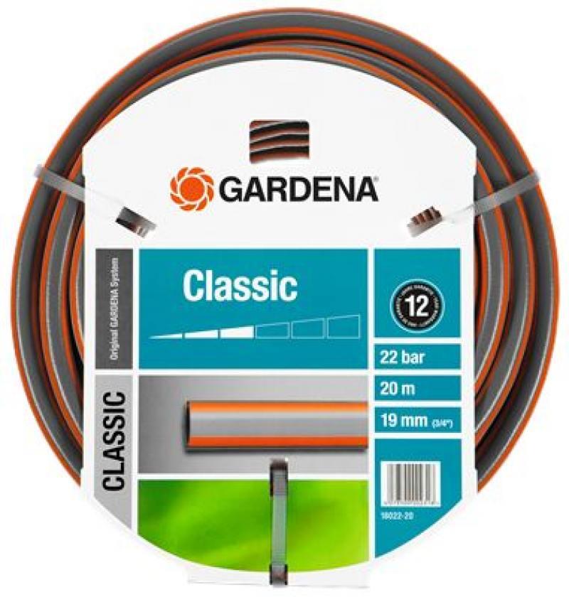 Шланг Gardena Classic 3/4 20м 18022-20.000.00 шланг садовый economic трехслойный 1 20м