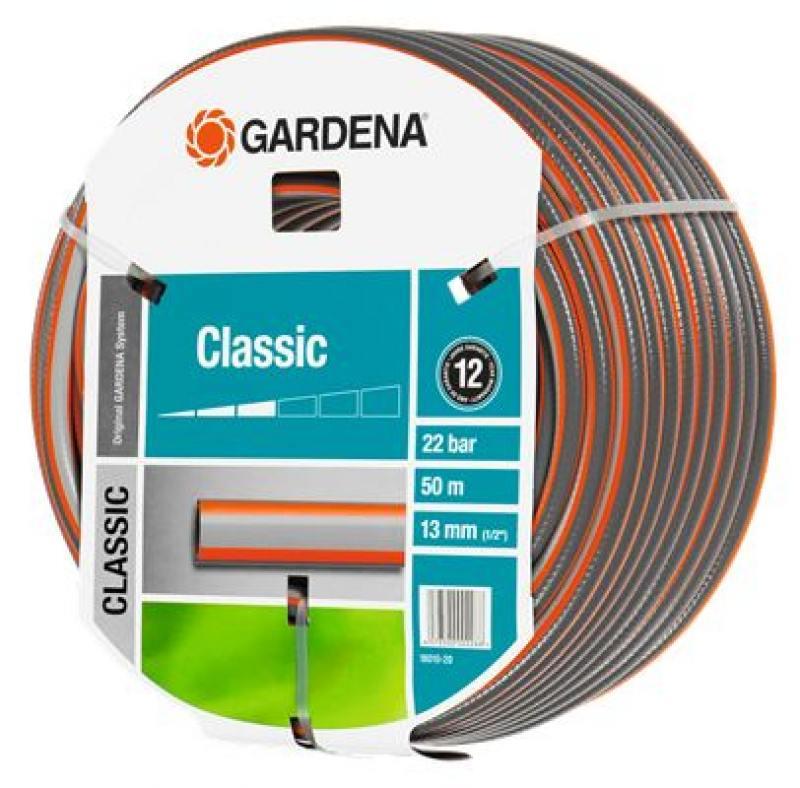 """Шланг Gardena Classic 1/2"""" 50м 18010-20.000.00 от OLDI"""