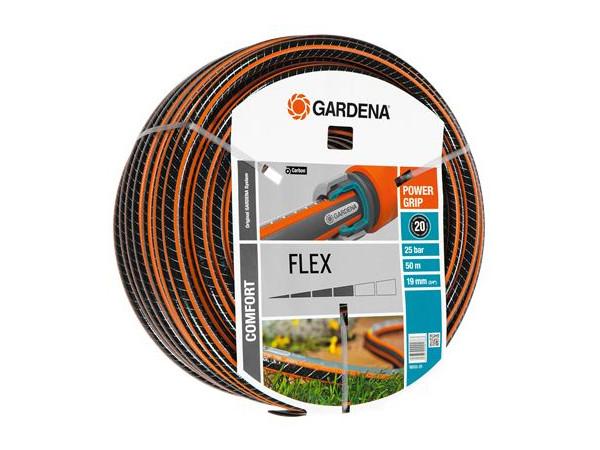 Шланг Gardena Flex 9x9 3/4 50м 18055-20.000.00 gardena flex 3 4 50м 18055 20 000 00
