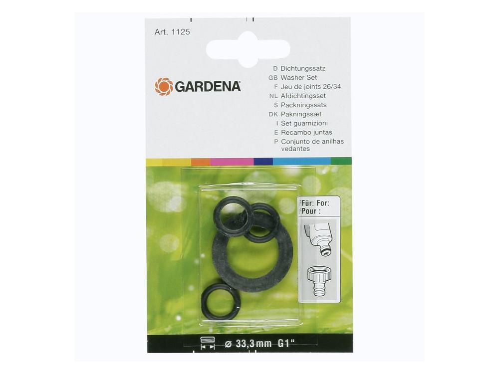 Комплект прокладок Gardena 01125-20.000.00 комплект прокладок для арт 902 2902 gardena 01125