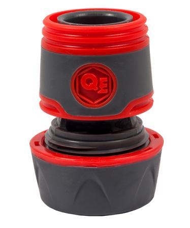 Соединитель QUATTRO ELEMENTI 646-096 быстроразъемный для шланга 3/4 мягкий пластик аквастоп катушка quattro elementi 772 203 для садового шланга 1 2до 45 м 3 430м