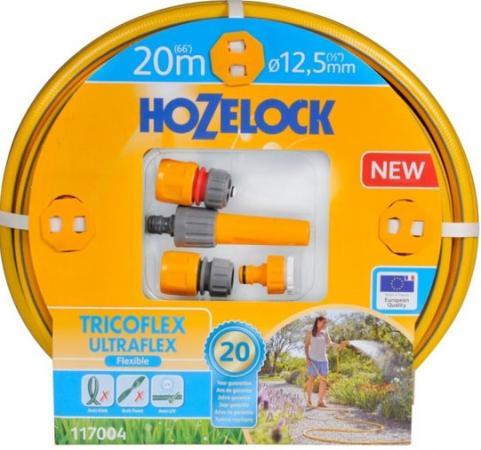 Набор HOZELOCK 117004 TRICOFLEX ULTRAFLEX STARTER SET ДЛЯ ПОЛИВА 12,5 MM 20 M fdj set 2013