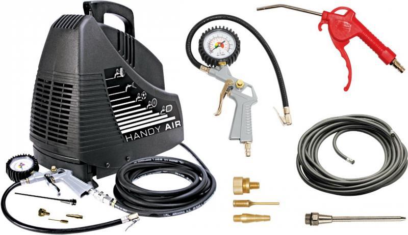 Подробнее о Компрессор Fubag HANDY MASTER KIT + набор из 5 предметов 8213690KOA607 8213690KOA536 компрессор fubag house master kit 5