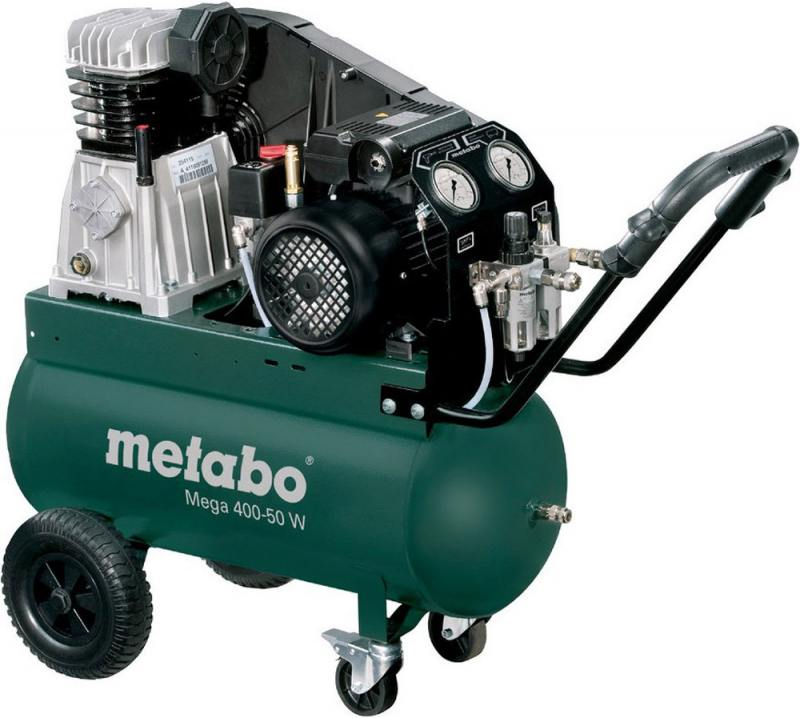Компрессор Metabo MEGA 400-50 W компрессор metabo power 250 10 w of 601544000