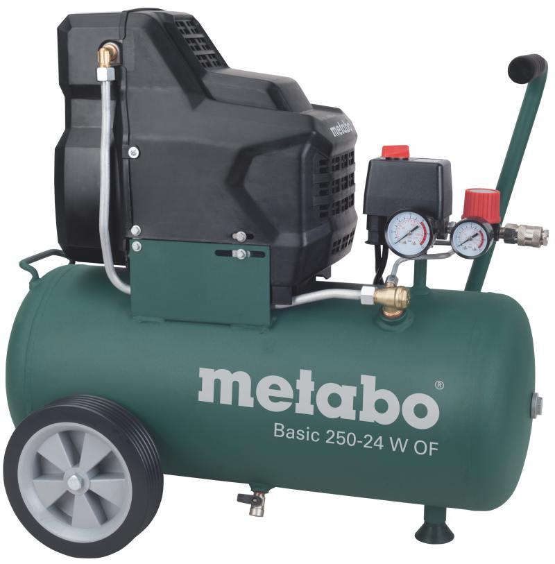Компрессор Metabo 250-24WOF безмасляный поршневой 601532000 компрессор metabo power 250 10 w of 601544000