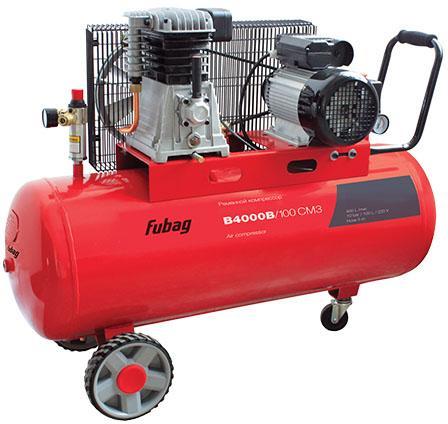 Компрессор Fubag B4000B/100 СМ3 поршневой 45681496 компрессор поршневой fubag b6800b 270 ст7 5