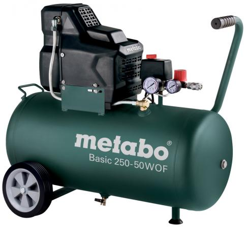 Компрессор Metabo Basic 250-50 W OF безмасляный 601535000 metabo 250 10 w of