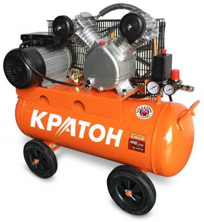 Компрессор КРАТОН AC-440-50-BDV ременной масляный 2200Вт 440л/мин 50л