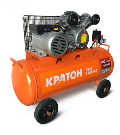 Компрессор КРАТОН AC-440-100-BDV 2200Вт 10бар 440л/мин 104кг ременной масляный