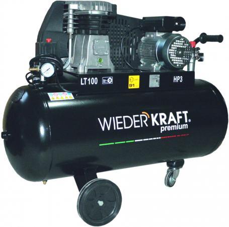 Компрессор Wiederkraft WDK-91032 2.2кВт фланец для установки колес wiederkraft wdk a6009058