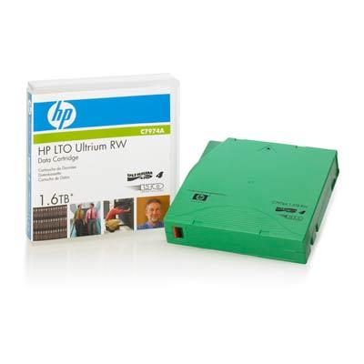 Ленточный носитель HP Ultrium LTO4 1.6TB bar code labeled Cartridge [C7974L] portable usb pos hand held handheld visible laser scan barcode bar code scanner scanning reader stroage