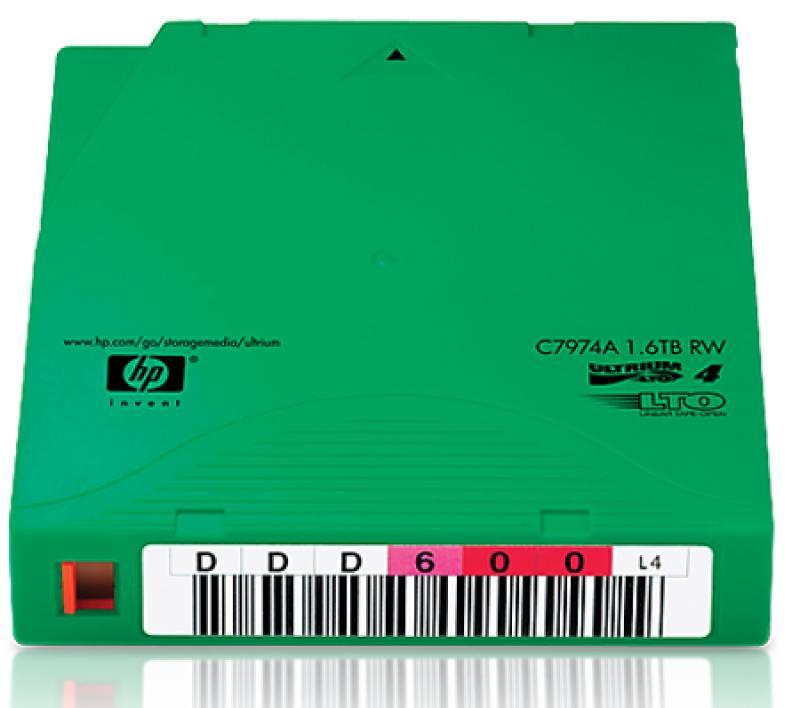 Набор картриджей HP LTO4 Ultrium Non Cust Label 20 Tapes C7974AN от OLDI