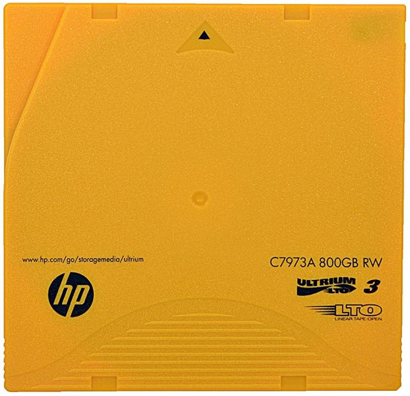 Ленточный носитель HP Ultrium LTO3 data cartridge 800GB RW C7973A от OLDI