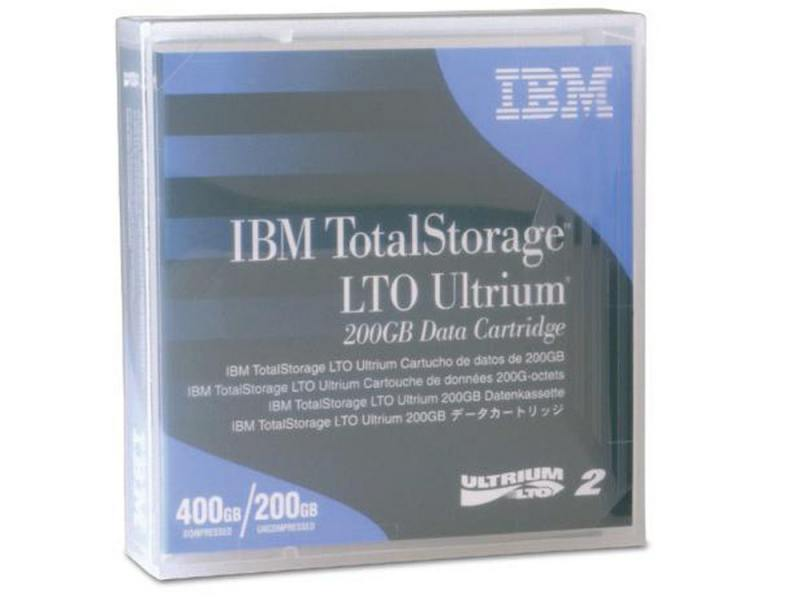 Картридж IBM Ultrium LTO 2 (200Gb) Data Cartridge 08L9870