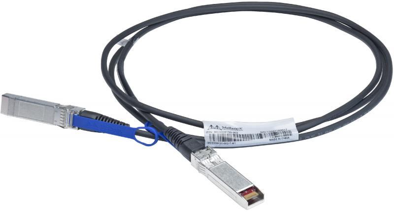 Кабель Mellanox passive copper cable ETH 10GbE 10Gb/s SFP+ 2m MC3309130-002 кабель mellanox passive copper cable eth 10gbe 10gb s sfp 1m mc3309130 001