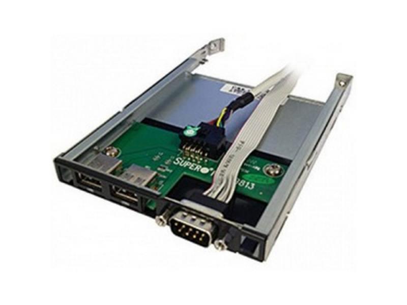 Модуль SuperMicro CSE-PT40L-B0 USB/COM 1U new original sunon 4cm psd1204ppbx a 4056 12v 12 2w 800 3375 01 b0 cooling fan