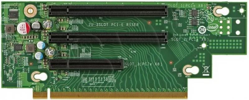 Плата расширения Intel A2UL8RISER2 934885