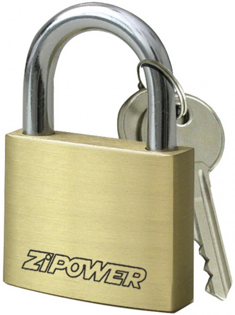 Замок Zipower PM 4243 навесной латунь salter 1066 b