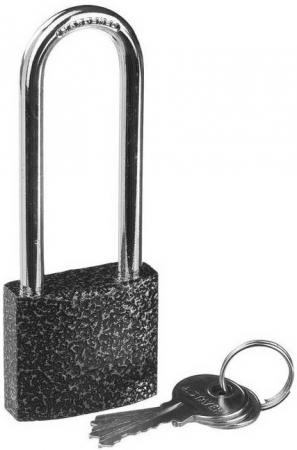 Замок STAYER STANDARD 37160-38-1 навесной металлический корпус удлиненная закаленная дужка 38мм salter 1066 b