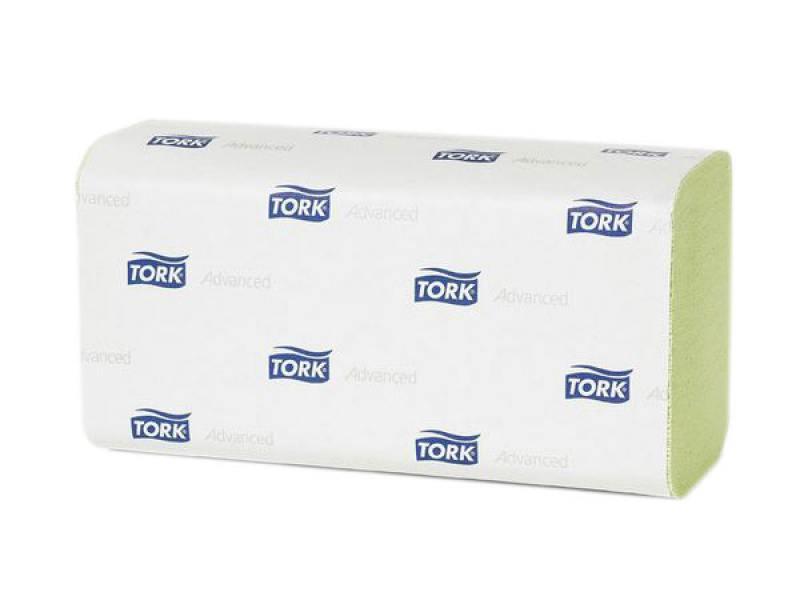 Полотенца бумажные TORK ADVANCED, сложение ZZ, H3, 2-сл., белые, 200 л 290184 полотенца horeca select бумажные однослойные 250 л