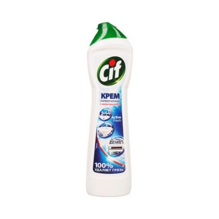 CIF Чистящий крем Актив Фреш 500мл cif чистящий крем active fresh универсальный 500 мл