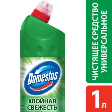 DOMESTOS Средство универсальное чистящее Хвойная свежесть 1л domestos средство универсальное чистящее фруктовая свежесть 500мл