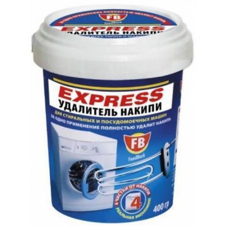 FeedBack EXPRESS удалитель накипи для стиральных и посудомоечных машин в пластиковой банке 400 гр. комплектующие для стиральных машин for samsung washing machine board samsung xqb4888 05 mfs xqb4888 05