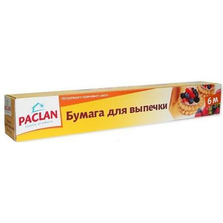PACLAN Бумага для выпечки в коробке 6мх29см бумага для выпекания paclan beesmart 6 м