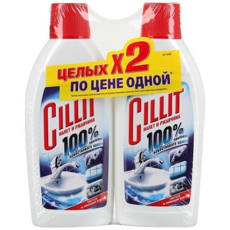 CILLIT Средство д/удален.извест.налета и ржавчины 2х450мл