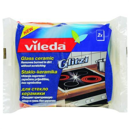 ВИЛЕДА Губка для стеклокерамики 2 шт. vileda сушилка для белья вива драй баланс vileda