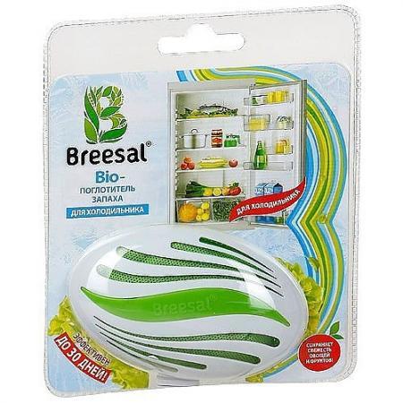 Breesal Био-поглотитель запаха для холодильника 80 г био поглотитель запаха для холодильника breesal 80 г