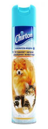 CHIRTON Освежитель воздуха от запаха животных 300мл