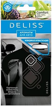 DELISS Картонный освежитель воздуха для автомобиля Comfort