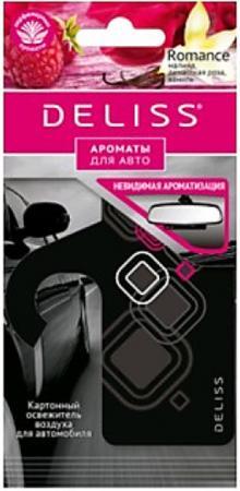 DELISS Картонный освежитель воздуха для автомобиля Romance