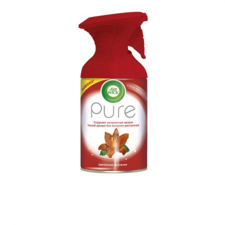 Air Wick Pure Освежитель воздуха Цветочная фантазия 250 мл освежитель воздуха air wick pure весеннее настроение
