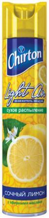 CHIRTON Лайт Эйр Освежитель воздуха Сочный лимон 300мл