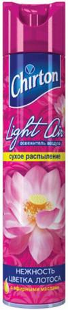 CHIRTON Лайт Эйр Освежитель воздуха Нежность цветка лотоса 300мл chirton освежитель воздуха спа релаксация 300мл