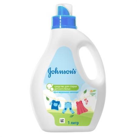 Johnsons Средство для стирки детского белья Для маленьких непосед 1 л johnsons baby для самых маленьких без отдушки 24 шт джонсонс бэби johnsons baby