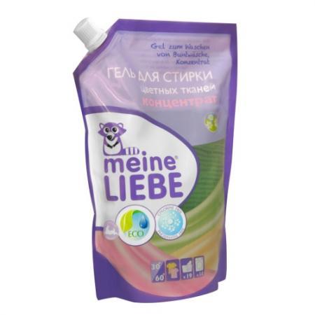 Картинка для MEINE LIEBE Гель для стирки цветных тканей концентрат 750мл cменный блок