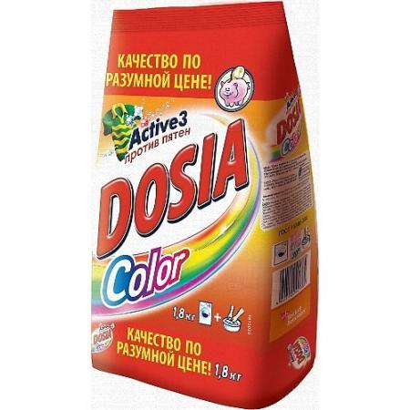 DOSIA Стиральный порошок автомат COLOR 1,8кг dosia стиральный порошок автомат color 8 4 кг