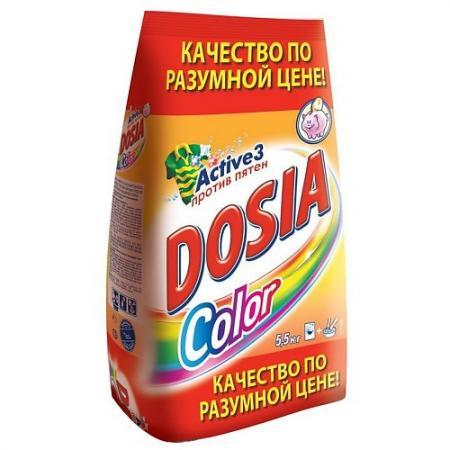 DOSIA Стиральный порошок автомат COLOR 5.5кг стиральный порошок dosia автомат color 3 7кг