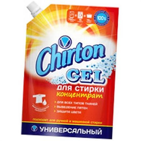 CHIRTON Гель для стирки Концентрированный универсал 750мл гель для стирки chirton концентрированный для детского белья 750мл