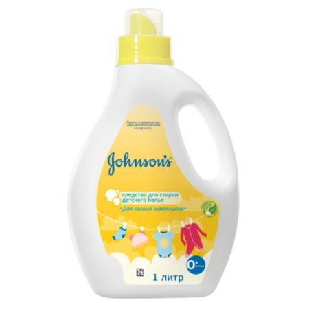 Johnsons Средство для стирки детского белья Для самых маленьких 1л детские моющие средства johnson's baby johnsons средство для стирки детского белья для маленьких непосед 1л