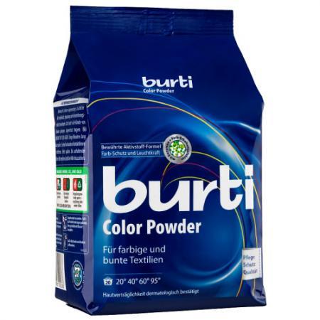 BURTI Стиральный порошок для цветного и тонкого белья Burti Color 1.5 кг стиральный порошок пемос color для цветного белья 2 кг