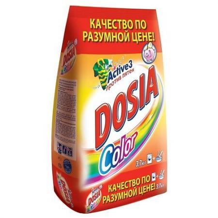 DOSIA Стиральный порошок автомат COLOR 3,7кг стоимость